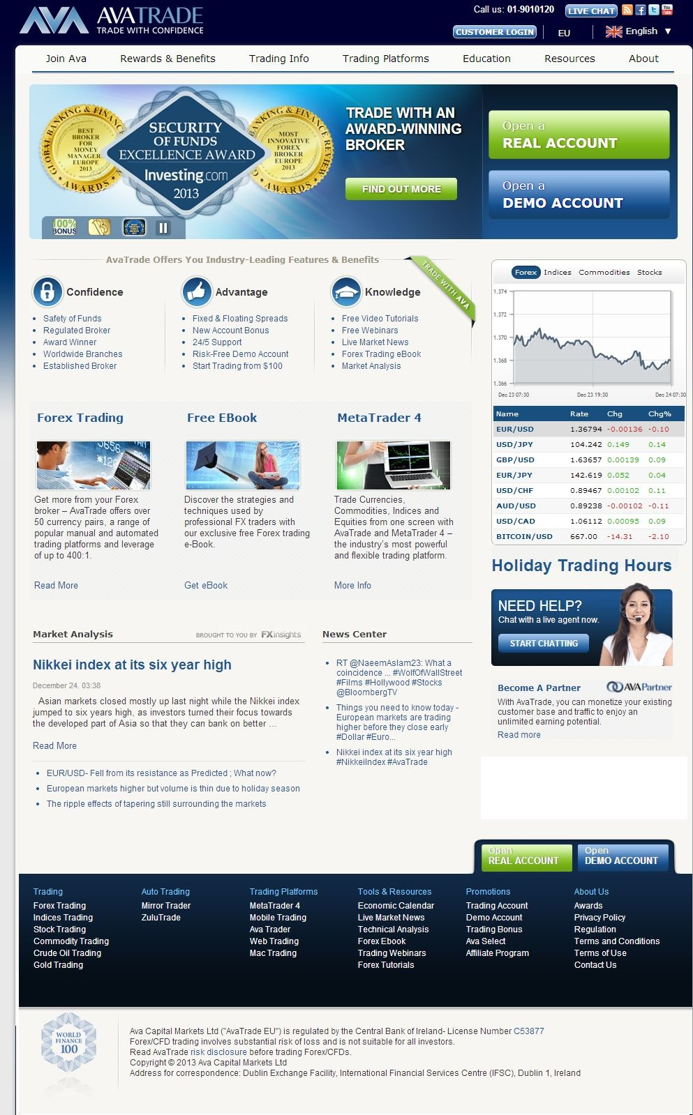 Best 4 forex brokers